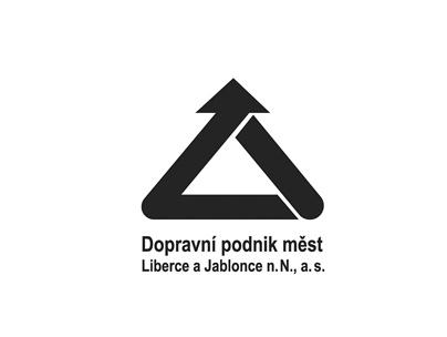 Logo dopravní podnik měst Liberce a Jablonce n.N., a.s.
