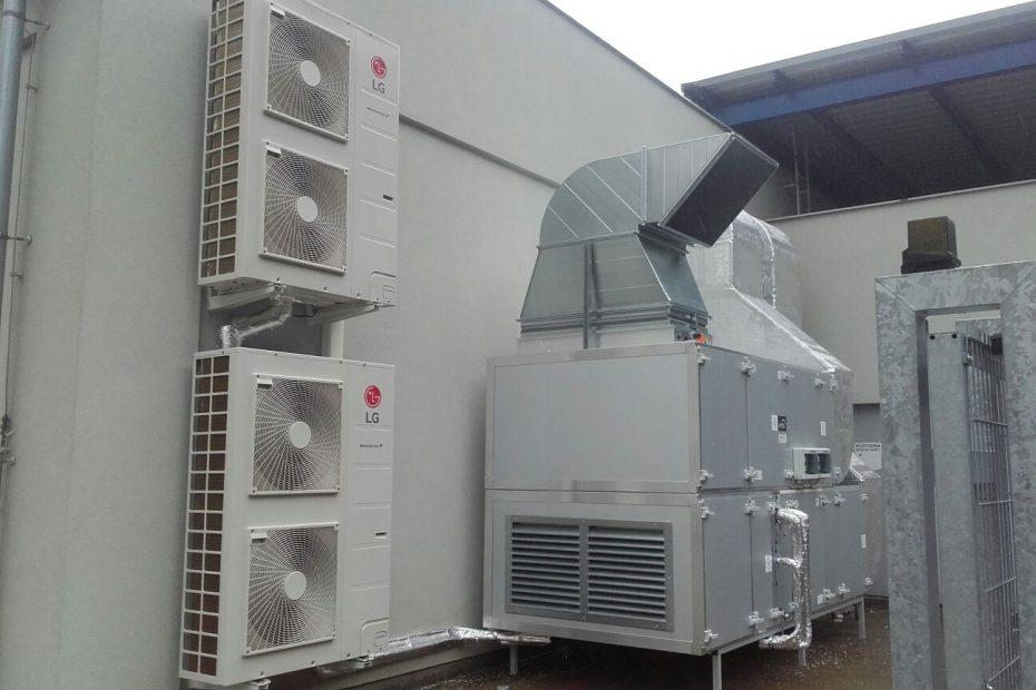 klimatizace + vzduchotechnika